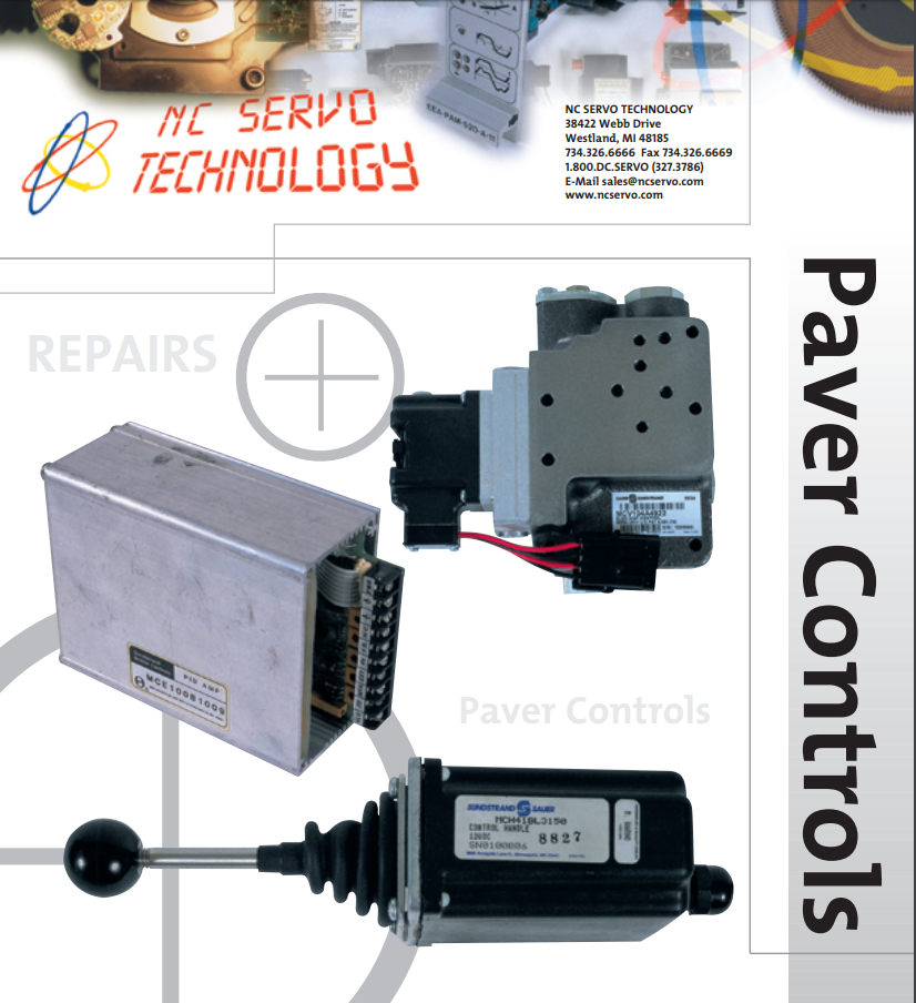 paver controls